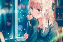 Anime Girls Rubias