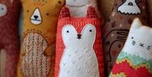 Plushes & Stuffies / The Art & Craft of Toys...