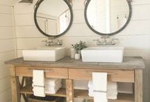 Rustic / Decorating with nature and natural materials...