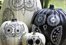 Hallowe'en / Decorating and Preparing for the Spookiest Day on the Calendar!