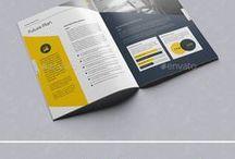 grafica company profile e brochure