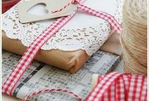 Gift wrap/ gift ideas