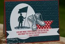 Stampin up cards / Card Inspirations from so many great talented paper-crafters. / by Kelly Garcia