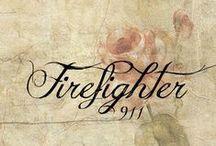 ಌ 911 ℘ Firefighter /  firefighter ಌ 3 ಌ daughter ಌ granddaughter ಌ grandson  / by ಌBeckyಌ