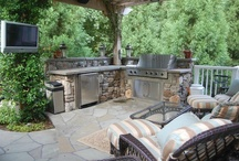 """kitchens and grills outside / """"cooking out"""" taken to the next level"""