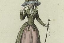 Moda 1750-1850 / by Janett Diaz