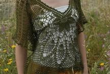 Crochet: Blusas y Chaquetas...2 / by Janett Diaz