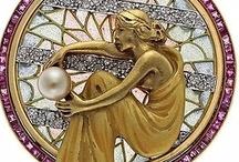 Art Nouveau/ Deco: Joyeria y complementos.. / by Janett Diaz