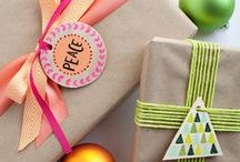 gift wrapping ideas / by Ally Niemiec