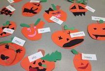 Teaching-Halloween Theme / All kinds of great teaching ideas for Halloween!