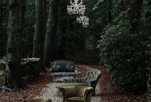 Style-Dark/Gothic Garden / not just talking color or absence of light but darker mood