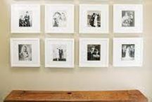 HOW TO DISPLAY PHOTOS / Print your photos!!! Visually appealing ways to display your beautiful artwork around the home.