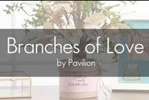 Branches of Love by Pavilion / Bring the spirit of nature indoors with these perfect giftable trees that take you back to the roots of what love means. Branches of Love are beautiful faux trees accented with decorative flowers, birds, butterflies, and burlap textures that are perfect for gift-giving all through the year. Every Day and Christmas themed trees include LED lights and blank ornaments for personalization. Leaves on each of the every day trees have heart-felt sentiment that enhances the theme of each tree.