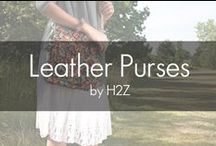 """H2Z Leather Purses / H2Z Metallic Leather Purses/Handbags are 100% real leather and come in two distinct styles. 24"""" chain strap and a 7.5"""" leather wristlet strap. The zippered closure allows you to fashionably store your valuables. All Anissa bags include a 48.5"""" shoulder strap and carrying handles. Strap and handles are adjustable for a comfortable fit. The metallic outer bag has a magnetic closer to keep the matching bag insert intact. The insert has a zippered closure with inside pockets and a zippered pouch."""