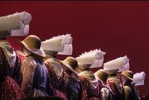 Ensembles traditionnels bretons / Danse bretonne - groupes adhérents à la confédération War 'l Leur