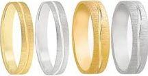 Alianzas de boda / Alianzas de boda en oro de 18 ktes