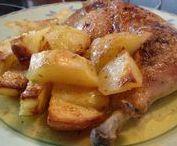 Κοτόπουλο στο φούρνο.