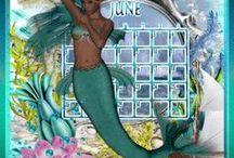 juin / calendrier image