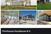 Houten huizen algemeen