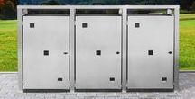 Design Mülltonnenboxen / Edle Mülltonnenboxen machen die Müllentsorgung zum Highlight! Merkmale: -Mit Deckel zum einfachen Befüllen der Mülltonnen von oben -Einfaches Herausziehen der Mülltonnen ohne unnötiges Kippen -Hochwertige Verarbeitung (Alle Bauteile rostfrei! Auch die Schrauben!) -Direkt vom Hersteller – Hergestellt in 35099 Burgwald -Durchdachte Konstruktion -Für 120L und 240L Mülltonnen erhältlich -Individualisierbar (Farbe, Muster,...)