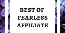 Best of Fearless Affiliate / Do you want to start a blog but do not know where or how to start? Blog posts from www.fearlessaffiliate.com. Start A Blog, Blog for Money, Success Mindset, Blog Traffic, Pinterest Traffic, Blogging Resources, Blogging Affiliate Program Reviews