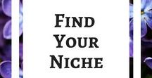Find Your Niche / What are you good at? How do you want to help the world, and yourself at the same time? What can you successfully write about? These are questions to ask yourself when choosing a niche. Start a Blog. Blog for Money. #startablog #blogformoney