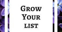 Grow Your Email List / The cornerstone of a successful blog is a functional email marketing set-up. Start an email marketing campaign, email service provider (ESP), welcome sequence, freebies, content upgrade