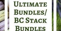 Ultimate Bundles/ BC Stacks Bundles / Bundles of blogging resources. Pins will be from Ultimate Bundles and all of their related products. Also, BC Stack bundles and updated information as available.