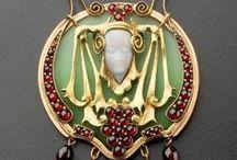 bijuterii art noueau