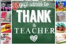 teacher gift ideas / by Brittney Josoff