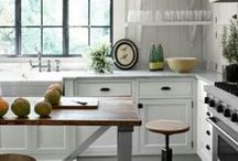 Kitchens / Beautiful and simple kitchen design and style.