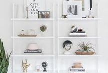 Shelving / Interesting shelving ideas for stylish storage, and how to style open shelves.