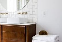 Bathrooms / Stylish bathrooms that are functional and beautiful.