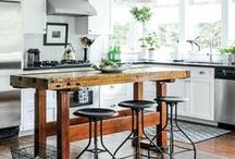 Modern Rustic Industrial / Modern rustic home décor  and spaces with hits of industrial style.