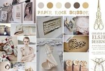 Theme Papeterie Mariage / wedding boards follow by L'Atelier d'Elsa http://www.latelierdelsa.com