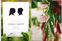 Faire-part Romatique Mariage / Faire-part mariage romatique Romantic Wedding Invitation