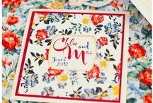 Faire-part Nature Mariage / Natur Wedding Invitation Faire-part nature mariage