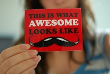 Moustaches I Heart / by Elle Reid