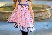 PC  and Knot Dresses / by Alicia Flint {Allie and Co Children's Designs}