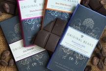 Elsa aime le chocolat / Tablette chocolat packaging