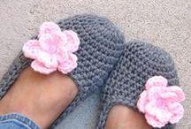 °* Tricot & crochet * pour les pieds *°