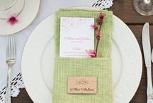 Decoration Table Mariage / Assiette décor mariage