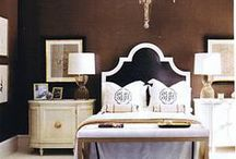 preppy bedroom / by Classic Bride blog