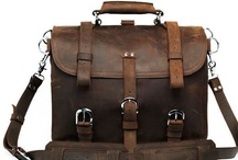 Bags for Gents / Briefcases / Messengers / Suitcases / Weekenders for the Men / by Kunle T Campbell