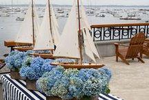 preppy seaside weddings / by Classic Bride blog