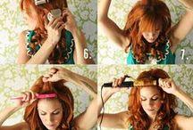 Hairstyles - how to / by Elle Reid