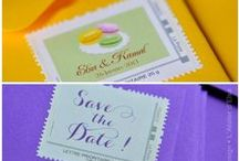 Timbre Mariage / Stamp mariage #timbre #mariage #stamp #wedding
