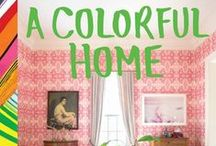 | A Colorful Home | / Nature, art, a favorite collection—each holds unexpected color combinations that can be beautifully incorporated into the home. Designer Susan Hable shows how to discover color in the everyday, create dynamic palettes, and translate them into stunning interior spaces. Home decorators will learn how a cheerful bedroom can be constructed from the natural hues of autumn leaves, or how a burst of bright confetti can inspire a candy-colored tiled bath. Brimming w/ luscious photography by Rinne Allen.