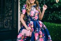 Floral Fashion / Fashion inspiration drawn from everything floral! Dresses, swimsuits, shoes - you name it, we love it!