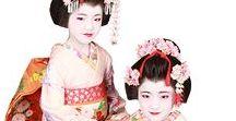 チビ舞妓、チビ花魁 / kids maiko / kids oiran / チビ舞妓は年長さんから、チビ花魁は年少さんから体験できるプランです。